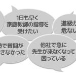 東京_最短本日に来てくれる家庭教師。1回だけもOK!最後の追い込みだー