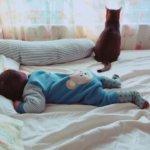 赤ちゃんが夜泣きしない寝かせ方にはパパママの2つのコツ
